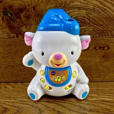 VTech Baby Lullaby Lights Bear Toy Blue Minus Strap for sale Vtech Baby, Baby Lullabies, Mobile Baby, Bear Toy, Night Lights, Cot, Comforter, Bears, Hello Kitty