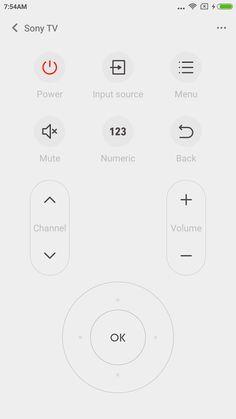 Mi Remote controller for TV AC