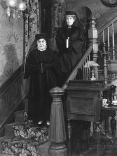 Jean Adair and Josephine Hull in Arsenic and Old Lace 1944