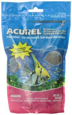 Loving Pets Acurel LLC Economy Activated Filter $2.99/1 LB, Carbon Pellets Aquarium and Pond Filter Accessory, 1-Pound: Amazon.ca: Pet Supplies