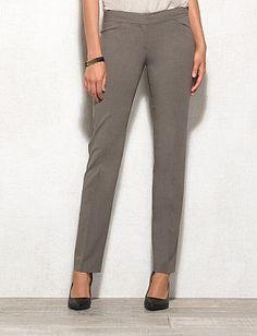 roz & ALI™ SMART Fit Straight Leg Pants, Short
