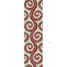 Free Loom Bead Patterns | ... LOOM beading pattern for cuff bracelet (buy any 2 patterns - get 3rd