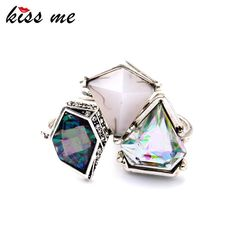 3pcs New Deign Geometric Imitation Gemstone Women Rings Set Famous Jewelry Like and Share if you agree!Get it here ---> www.servjewelry.c... #shop #beauty #Woman's fashion #Products #homemade