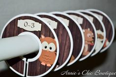 Baby closet dividers Woodland Dividers Closet Organizers