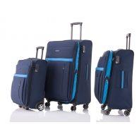 Zestaw 3 walizek Travelite exclusive, granatowy + niebieski Fashion, Moda, Fashion Styles, Fashion Illustrations
