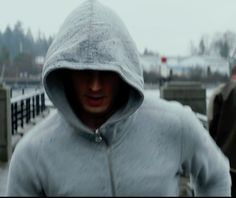 J. Crew Cotton-Cashmere Zip Hoodie Jacket inspired by Christian Grey in Fifty Shades of Grey | https://thetake.com/product/41471 | TheTake