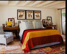 Африканский стиль в интерьере   #африканскийстиль #спальня