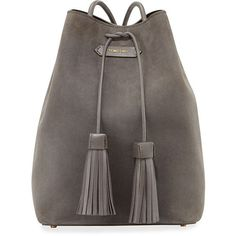 Shop for Suede Double-Tassel Medium Bucket Bag, Dark Gray by Tom Ford at ShopStyle. Suede Handbags, Purses And Handbags, Brown Handbags, Tom Ford Handbags, Tassel Purse, Beautiful Bags, Look Fashion, Bag Accessories, Backpack Purse