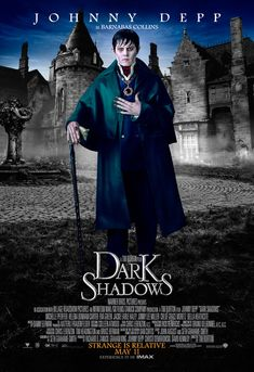Here's an official poster for the awaited movie Dark Shadows Actor: Johnny Deep. Barnabas Collins (C) Dark Shadows (C) Tim Burton. More Posters: [link] Barnabas Collins - Dark Shadows Johnny Depp Characters, Johnny Depp Movies, See Movie, Movie Tv, Johnny Depp Personajes, Barnabas Collins, Johnny Depp News, It's Johnny, Dark Shadows Movie