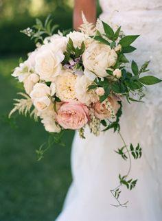 Garden roses: http://www.stylemepretty.com/little-black-book-blog/2015/05/08/romantic-garden-inspired-summer-wedding/   Photography: Docuvitae - http://www.docuvitae.com/