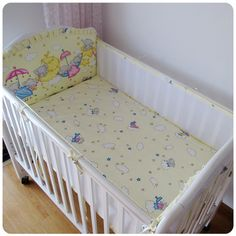 Baby Bedding Baby Bedding Cotton Crib Baby Bed Surrounding Childrens Bed Anti-collision Bed Kit Can Be Customized Good Heat Preservation