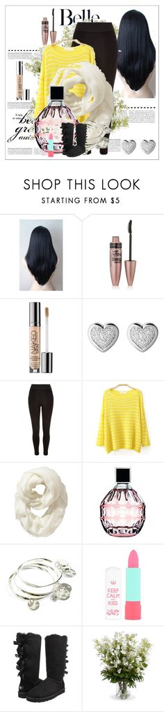 """School Outfits"" by dishab31 on Polyvore featuring Maybelline, Sephora Collection, Links of London, River Island, Old Navy, Jimmy Choo, Vera Bradley, Rimmel, UGG Australia and New Growth Designs"