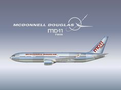McDonnell Douglas Aircraft Logo | Link to this page: http://www.aviation-design.net/?id=14998