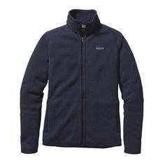 We make the Women's Better Sweater® Jacket for travel plans that rely on hope and good fortune. Check it out at Patagonia.com.