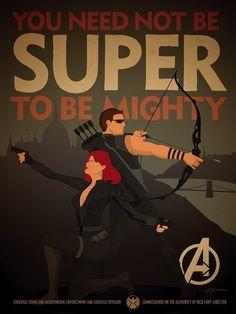S.H.I.E.L.D. Recruitment poster by Adam Levermore.