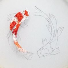 Embroidery tutorials Ribbon Embroidery Tutorial, Hand Embroidery Projects, Hand Embroidery Videos, Flower Embroidery Designs, Simple Embroidery, Silk Ribbon Embroidery, Hand Embroidery Patterns, Embroidery Stitches, Embroidery On Tshirt
