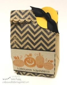 Halloween Happiness Treat Bag by LorriHeiling - Cards and Paper Crafts at Splitcoaststampers