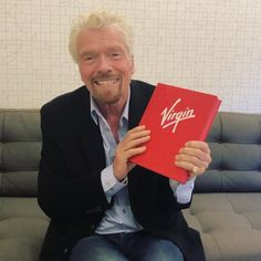 "Richard Branson on Instagram: ""Something I've been very excited about... introducing Virgin by Design - special look behind the scenes of the culture and creativity that…"""