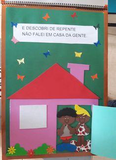 "Atividades Escolares: Livro gigante ""A casa e seu dono"" Elias José Maria Jose, Education, Frame, Iris, Creative Activities For Kids, Literacy Activities, Tall Tales Activities, Kids Smart, Classroom"
