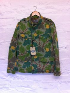 Bnwt Cp Company Camouflage M-65 Jacket 52/xl