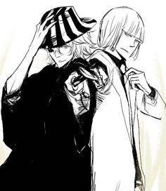 Bleach - Shinji Hirako x Kisuke Urahara - UraShin