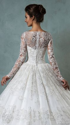 2016 wedding dresses bateau neckline lace