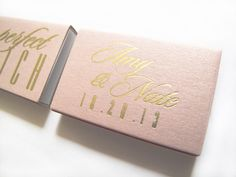 The Perfect Match Matchbox Wedding Favors Foil Stamped Personalized Matches Sparklers Custom Names Date Rehearsal Dinner Bridal