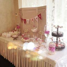 http://www.lacybird.ru/ #candybar #decor #wedding #flowers