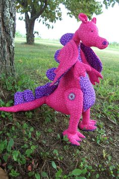 Your place to buy and sell all things handmade Cute Stuffed Animals, Dinosaur Stuffed Animal, Christmas Present List, Stuffed Dragon, Animal Spirit Guides, Dragon Pattern, Presents For Kids, Heart For Kids, Fantasy Creatures
