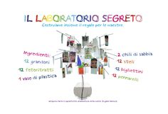 Artistic laboratory performed with 12 children, five-six years old - Made in Marcella Fiore
