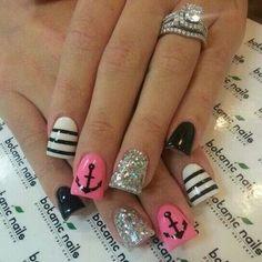 Nail Design Ideas 2015 gel nails designs summer trends 2015 Pink Owl Nail Designs Nail Designs Tips