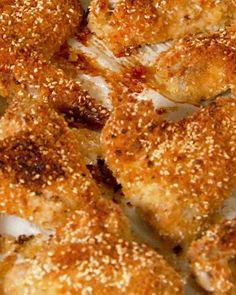 Crunchy Sesame Chicken Wings Recipe