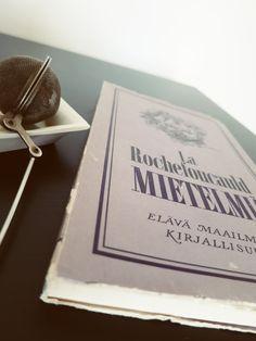 A book by La Rochefoucauld.