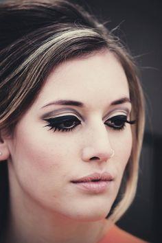catwalk 60s makeup look - Google Search