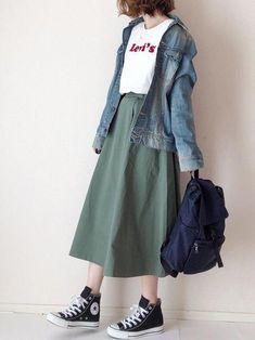 Great korean street fashion koreanstreetfashion is part of Hijab fashion - Korean Street Fashion, Korea Fashion, Asian Fashion, Look Fashion, Japan Fashion Casual, Japan Street Fashion, Ulzzang Fashion, Hijab Fashion, Fashion Outfits