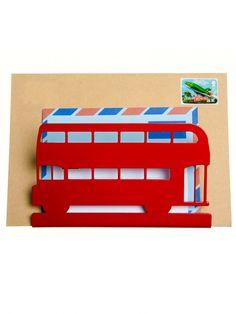 Routemaster Bus Letter Rack – Susan Bradley