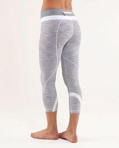 Lululemon, my first   Lululemon, my first crops that are not black. Love these:)