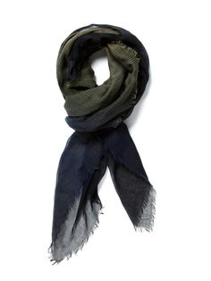 Neil Barrett / Cotton and Modal Scarf