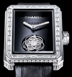 Chanel. The Premiere Flying Tourbillon watch in white gold and diamonds. POA