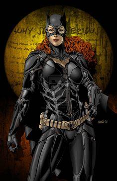Batgirl (The Dark Knight Version)  VS. Batman – 25 superbes Fan Arts des Super héros de Gotham | Ufunk.net