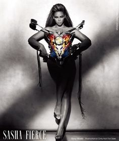 Beyonce in Mugler - Beyonce I Am... World Tour