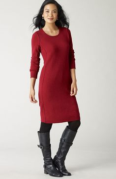 i'm wanting this wool/cashmere dress $139  #clothing #style #fashion