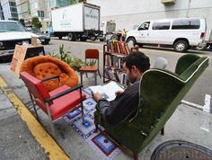 Today is Park(ing) Day 2014 - Send us Photos of Pop-Up Parks Near You! | Inhabitat - Sustainable Design Innovation, Eco Architecture, Green Building