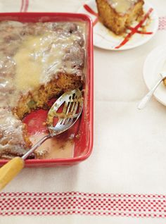 Recette de Ricardo de gâteau à la salade de fruits