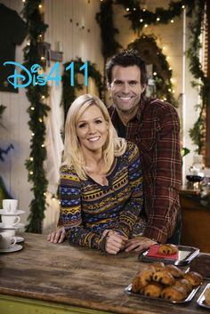 """Holidaze"" With Jennie Garth And Cameron Mathison Premieres On ABC Family December 8, 2013"