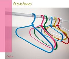 The large ones are perfect for Barbie clothes. (from original source) - large paper clips used for slightly bigger dolls. Diy Barbie Clothes, Doll Clothes, Barbie Stuff, Trombone, Doll Crafts, Diy Doll, Barbie Accessories, Barbie Furniture, Coat Hanger