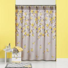 Spring Garden Floral Fabric Shower Curtain KOHLS