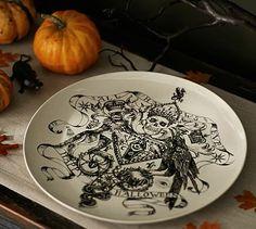 All Hallows Eve Platter #potterybarn