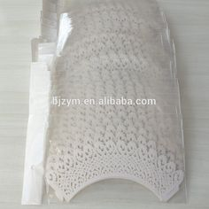 Wholesale white vine lace paper cake decoration standard cupcake liners Cupcake Wrapper for wedding