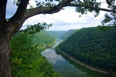 Hawks Nest State Park -- Fayette County